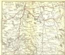 VIENNE: Environs of Poitiers, 1889 map